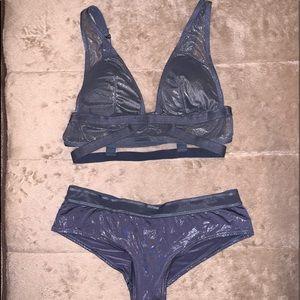 Victoria secret bra and panty set
